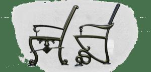 Литые опоры для скамеек